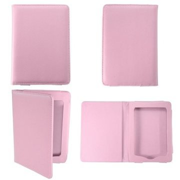Roze Magnetisch PU Case Cover Ebook Protector Voor Kindle Paperwhite Reader