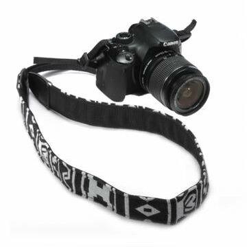 Zwarte SLR DSLR Camera Nek Schouder Riem Vintage Voor Canon Nikon