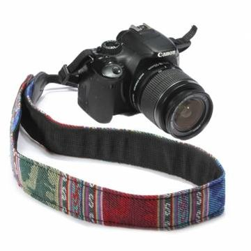 Blauwe SLR DSLR Camera Nek Schouder Riem Vintage Voor Canon Nikon