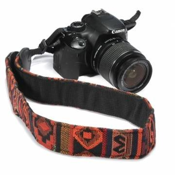 Oranje SLR DSLR Camera Nek Schouder Riem Vintage Voor Canon Nikon