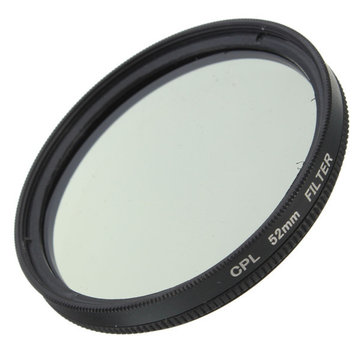 52mm Foto Digitale Slim CPL Circular Polariserende Lensfilter CPL Polarizer Voor Canon Nikon Sony