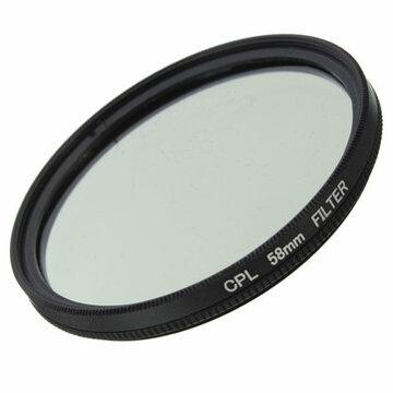 58mm Foto Digitale Slim CPL Circular Polariserende Lensfilter CPL Polarizer Voor Canon Nikon Sony