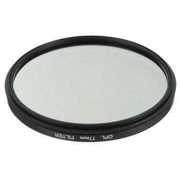 77mm Foto Digitale Slim CPL Circular Polariserende Lensfilter CPL Polarizer Voor Canon Nikon Sony