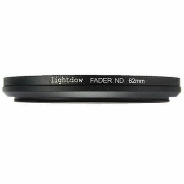 62mm Verstelbaar Neutraal Dichtheid ND2-ND400 Lensfilter Voor Camera
