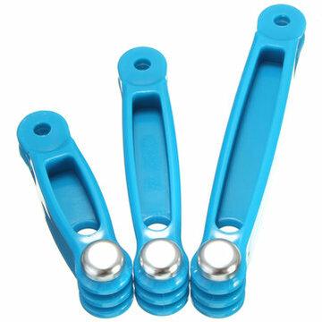Blauw 3 In 1 Uitbreidings Conversie Haak Arm Voor Gopro Hero 4  3 2 1 3 Plus